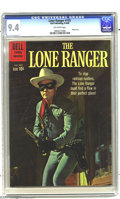 Silver Age (1956-1969):Western, The Lone Ranger #135 (Dell, 1960) CGC NM 9.4 Off-white pages. Photocover featuring Clayton Moore as the Lone Ranger. Only o...