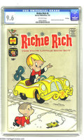 Silver Age (1956-1969):Humor, Richie Rich #5 File Copy (Harvey, 1961) CGC NM+ 9.6 Off-white pages. You don't have to be a Harvey collector to appreciate -...
