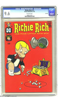 Silver Age (1956-1969):Humor, Richie Rich #11 File Copy (Harvey, 1962) CGC NM+ 9.6 Off-white pages. Here's a high-grade Harvey you'll assume was stored in...