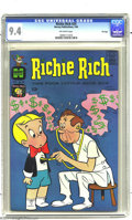 Silver Age (1956-1969):Humor, Richie Rich #24 File Copy (Harvey, 1964) CGC NM 9.4 Off-white pages. A razor-sharp spine and deep cover colors are highlight...