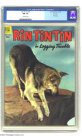 Silver Age (1956-1969):Western, Rin Tin Tin File Copy Group (Dell, 1954-56) Condition: Average CGCNM 9.4. All comics in this group are CGC NM 9.4 with off-...(Total: 4 Comic Books Item)