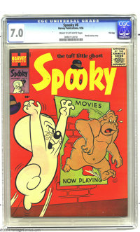 Spooky #6 File Copy (Harvey, 1956) CGC FN/VF 7.0 Cream to off-white pages. When was the last time you saw this early Spo...