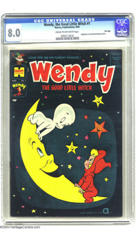 Wendy, the Good Little Witch #1 File Copy (Harvey, 1960) CGC VF 8.0 Cream to off-white pages. Solid copy from Harvey's f...