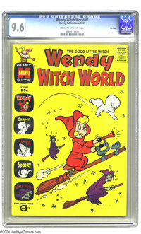 Wendy Witch World #1 File Copy (Harvey, 1961) CGC NM+ 9.6 Cream to off-white pages. CGC has certified only four copies o...