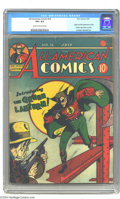Golden Age (1938-1955):Superhero, All-American Comics #16 (DC, 1940) CGC VG+ 4.5 Cream to off-white pages. After the Big Four of Action Comics #1, Detec...