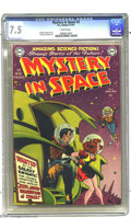 Golden Age (1938-1955):Science Fiction, Mystery in Space #2 (DC, 1951) CGC VF- 7.5 White pages. Holycrossover! This attractive and colorful cover manages to mix tw...
