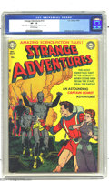 """Golden Age (1938-1955):Science Fiction, Strange Adventures #13 (DC, 1951) CGC VF- 7.5 Off-white pages.Carmine Infantino, Alex Toth, and Gil Kane art. CGC notes, """"'..."""
