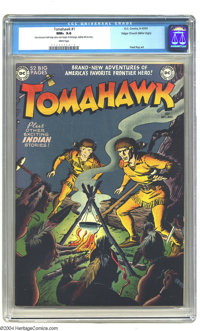 Tomahawk #1 Mile High pedigree (DC, 1950) CGC NM+ 9.6 White pages. Fred Ray drew the cover of this issue, which started...