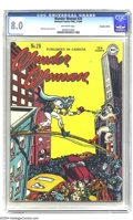 Golden Age (1938-1955):Superhero, Wonder Woman #29 Canadian Edition (DC, 1948) CGC VF 8.0 Off-white pages. The cover of this Canadian edition sees Wonder Woma...