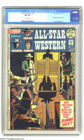 Bronze Age (1970-1979):Western, All-Star Western #10 (DC, 1972) CGC NM 9.4 Off-white pages. Sorry, Jonah Hex fans -- the days when Hex was a favorite of a s...