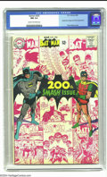 Silver Age (1956-1969):Superhero, Batman #200 (DC, 1968) CGC NM 9.4 Cream to off-white pages. The Joker, the Penguin, and the Scarecrow appear in this anniver...