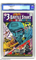 Silver Age (1956-1969):War, The Brave and the Bold #52 Three Battle Stars (DC, 1964) CGC VF/NM 9.0 Off-white pages. In our opinion, the cover should say...