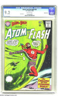 Silver Age (1956-1969):Superhero, The Brave and the Bold #53 Atom and Flash - Western Penn pedigree(DC, 1964) CGC NM- 9.2 Off-white pages. Alex Toth art. Thi...