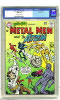 Silver Age (1956-1969):Superhero, The Brave and the Bold #55 The Metal Men and the Atom - WesternPenn pedigree (DC, 1964) CGC NM+ 9.6 Off-white to white pages....