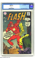 Silver Age (1956-1969):Superhero, The Flash #182 (DC, 1968) CGC NM/MT 9.8 White pages. Ross Andrucover and art. This currently holds first place in grade amo...