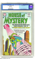 Silver Age (1956-1969):Science Fiction, House of Mystery #144 (DC, 1964) CGC NM 9.4 Off-white to white pages. J'onn J'onzz (Manhunter from Mars) story. Joe Certa an...