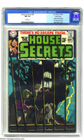 Silver Age (1956-1969):Mystery, House of Secrets #81 Pacific Coast pedigree (DC, 1969) CGC NM 9.4White pages. With this issue, House of Secrets abandon...