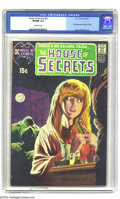 Bronze Age (1970-1979):Horror, House of Secrets #92 (DC, 1971) CGC VF/NM 9.0 Off-white pages. Thisissue, featuring the Swamp Thing's first appearance, is ...