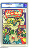 """Silver Age (1956-1969):Superhero, Justice League of America #21 Pacific Coast pedigree (DC, 1963) CGC NM- 9.2 Off-white pages. This issue featured the first """"..."""
