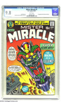 """Bronze Age (1970-1979):Superhero, Mister Miracle #1 (DC, 1971) CGC NM/MT 9.8 White pages. It's only amatter of time before the """"Fourth World"""" #1s take their ..."""