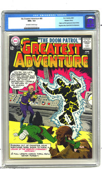 My Greatest Adventure #80 Western Penn pedigree (DC, 1963) CGC NM+ 9.6 Off-white to white pages. Our run of pedigree cop...