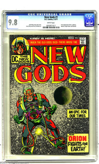 The New Gods #1 (DC, 1971) CGC NM/MT 9.8 White pages. Three little words on a cover blasted DC into the Bronze Age: &quo...