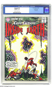 Showcase #52 Cave Carson - Pacific Coast pedigree (DC, 1964) CGC NM/MT 9.8 Off-white to white pages. While we hate to gi...