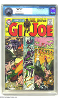 Silver Age (1956-1969):War, Showcase #53 G.I. Joe - Pacific Coast pedigree (DC, 1964) CGC NM+ 9.6 Off-white to white pages. Could this book be any more ...