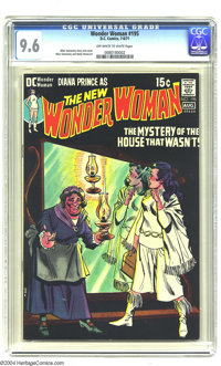 Wonder Woman #195 (DC, 1971) CGC NM+ 9.6 Off-white to white pages. Mike Sekowsky cover. Sekowsky and Wally Wood art. Thi...