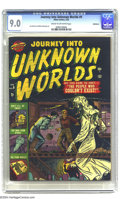 Golden Age (1938-1955):Horror, Journey Into Unknown Worlds #9 Bethlehem pedigree (Atlas, 1952) CGCVF/NM 9.0 Cream to off-white pages. How can you pass up ...