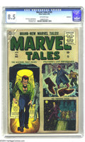 Silver Age (1956-1969):Horror, Marvel Tales #145 Bethlehem pedigree (Atlas, 1956) CGC VF+ 8.5Off-white pages. Sol Brodsky cover. Dick Ayers, Paul Reinman,...