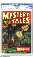 Golden Age (1938-1955):Horror, Mystery Tales #7 Bethlehem pedigree (Atlas, 1953) CGC NM- 9.2Off-white pages. A pre-Code horror book in high grade is somet...