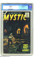 Silver Age (1956-1969):Horror, Mystic #52 Bethlehem pedigree (Atlas, 1956) CGC NM 9.4 Cream tooff-white pages. When was the last time you saw this Atl...