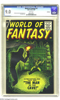 Silver Age (1956-1969):Horror, World of Fantasy #3 Bethlehem pedigree (Atlas, 1956) CGC VF/NM 9.0 White pages. It's no wonder that this is the highest-grad...