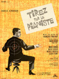 Movie Posters:Foreign, Shoot the Piano Player (Cocinor, 1960). Fine+ on Linen.