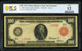 Fr. 1083a $100 1914 Red Seal Federal Reserve Note PCGS Banknote Fine 12