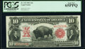 Fr. 115 $10 1901 Legal Tender PCGS Gem New 65PPQ
