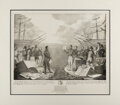 Political:Posters & Broadsides (pre-1896), Andrew Jackson: Large 1836 Lithographed Cartoon. ...