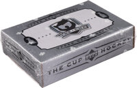 """2005-06 Upper Deck Hockey """"The Cup"""" Unopened Box With Possible Rookie Cards of Crosby and Ovechkin"""
