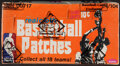 Basketball Cards:Unopened Packs/Display Boxes, 1974/75 Fleer Basketball Patches Wax Box with 24 Unopened Packs. ...
