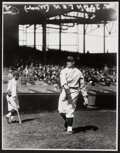 Baseball Collectibles:Photos, Walter Johnson In The Field Oversized Modern Print - The Charles Conlon Collection. ...