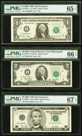 Small Size:Federal Reserve Notes, Fr. 1929-L* $1 2003 Federal Reserve Star Note. PMG Gem Unc...