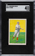 Baseball Cards:Singles (Pre-1930), 1911-14 D304 Brunners Bread Cy Young SGC VG/EX 4. ...