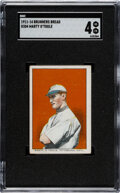 Baseball Cards:Singles (Pre-1930), 1911-14 D304 Brunners Bread Marty O'Toole SGC VG-EX 4 - Pop Two, One Higher. ...