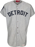 Baseball Collectibles:Uniforms, 1970 Mickey Lolich Game Worn Detroit Tigers Jersey. ...
