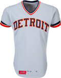 Baseball Collectibles:Uniforms, 1978 Lou Whitaker Game Worn Detroit Tigers Rookie Jersey - Rookie of The Year Winner....