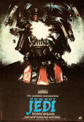"""Movie Posters:Science Fiction, Return of the Jedi (Polfilm, 1984). Rolled, Very Fine+. Full-Bleed Polish One Sheet (26.25""""X 38.25"""") Style B, Witold Dybowsk..."""