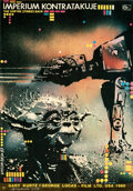 Movie Posters:Science Fiction, The Empire Strikes Back (20th Century Fox, 1983). Rolled, ...