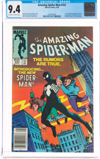 The Amazing Spider-Man #252 (Marvel, 1984) CGC NM 9.4 Off-white to white pages