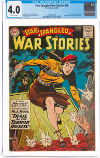 Star Spangled War Stories #89 (DC, 1960) CGC VG 4.0 Off-white pages